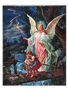 Canvas Print  Guardian Angel (PLTL10)