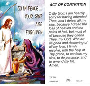 TJP Holy Card: Act of Contrition (TJP266B)