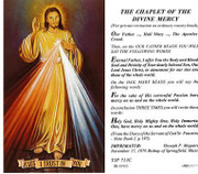 TJP Holy Card: Chaplet of the Divine Mercy (TJP713C)
