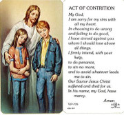TJP Holy Card: Act of Contrition (TJP735A)