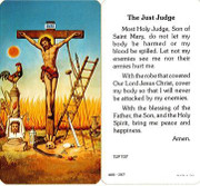 TJP Holy Card: The Just Judge (TJP737A)