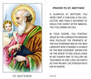 TJP Holy Card: St Matthew (TJP744)