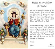 TJP Holy Card: Prayer to the Infant of Atocha (TJP764B)