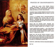 TJP Holy Card: Prayer of Grandparents (TJP767B)