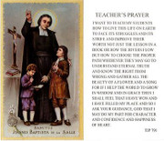TJP Holy Card: Teacher's Prayer (TJP791)