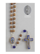 Rosary Necklace: Miraculous 6mm Beads (RX01107)