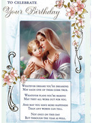Cards (6) Birthday Religious(CD22105)