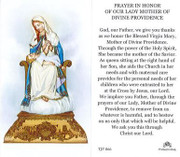 TJP Holy Card: Our Lady Mother of Divine Providence (TJP866)