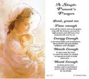 TJP Holy Card: A Single Parent's Prayer (TJP877)