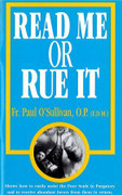 Booklet: Read Me or Rue it (READ ME OR)
