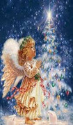 Mini Mosaic Kit: Christmas Angel(KMMXA)