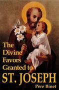 Book: The Divine Favors Granted to St Joseph (DIVINE FAVOUR)
