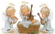 Mini Mosaic Kit: Three Angels and Manger(KMM3AM)