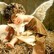 Mini Mosaic Kit: Angels and Lamb(KMMAL)