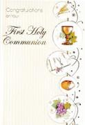 Communion Cards (Pk 6): Symbols (CDC4524)