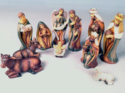Nativity Set 11 pieces 9cm (NS19499)