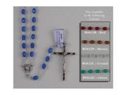 Rosary: Translucent Plastic Brown (RO632N)