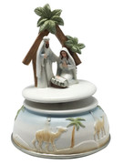 Musical Resin Nativity 13cm (NST1971)