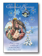Quality Christmas Cards Pk6 One designs (CDX97645)