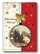 Quality Christmas Cards Pk6 One designs (CDX97651)