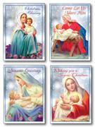 Budget Christmas Cards Pkt 8 (CDX2061)