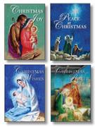 Budget Christmas Cards Pkt 8 (CDX2063)