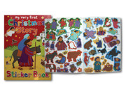 Children's Sticker Book: 1st Christmas Story (0745962139)