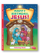 Children's Colouring Book: Happy Birthday Jesus!