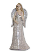 Angel with Cross, Glitter (ST3501)