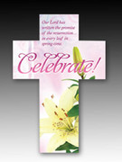 Easter Bookmark Cross (each): Celebrate! (HCE7721)