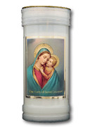 Devotional Candle: Our Lady of Good Counsel