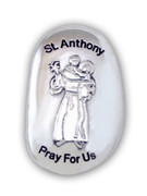 Thumb Stone: St Anthony (TS121)