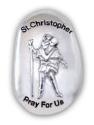 Thumb Stone: St Christopher (TS122)