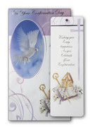 Confirmation Card with Detachable Bookmark (each)(CDF7441e)