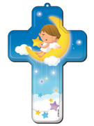 Wall Cross: Angel 18cms(CRB05)