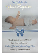 Cards (each): Baptism Blue(CD22652e)