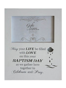 Baptism Gift: LED Shadow Frame (PLB6015)