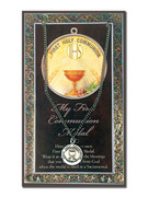 Pewter Communion Medal & Card (LF9695)