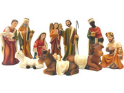 Nativity Set: 11 pieces, 11cm (NS10037)