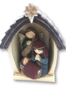 Nativity Scene All-in-one 12cm (NST1992)