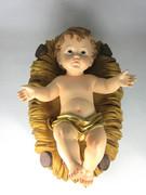 Baby Jesus in Manger, 24cm (NST24CU)