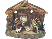 Nativity Set: All-in-One, 27cm(NS10027)