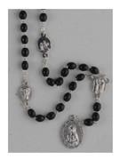 Dolor (Seven Sorrows) Rosary Chaplet Black (RO201ADK)