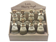 Retail Display: Little Blessing White Angels 24 pieces
