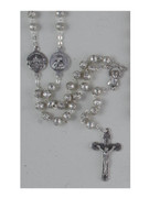 Basilica Rosary: 6mm Rose beads (RX65)