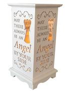 Wood Lanterns with LED Light: Angel(LT84690)
