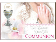 Post A Plaque: Communion Girl(PP35926)