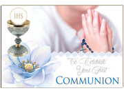 Post A Plaque: Communion Boy(PP35925)