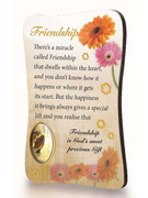 Magnet Plaque: Friendship (MG99734)
