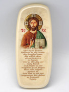 Wall Plaque: Pearl Stone Christ Teacher Our Father (PL2946CT)